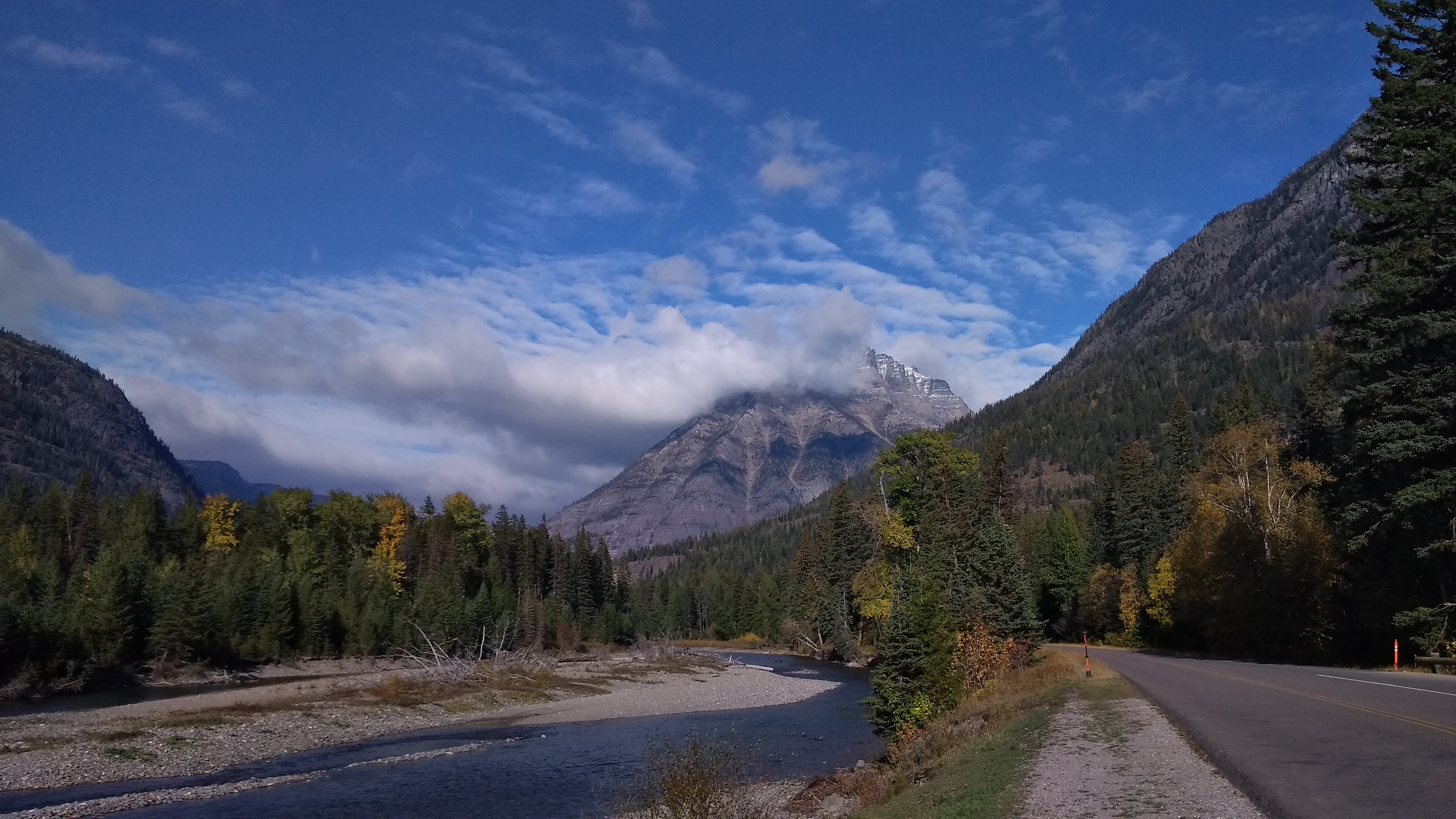 Parque Nacional de los Glaciares. Montana, EE.UU