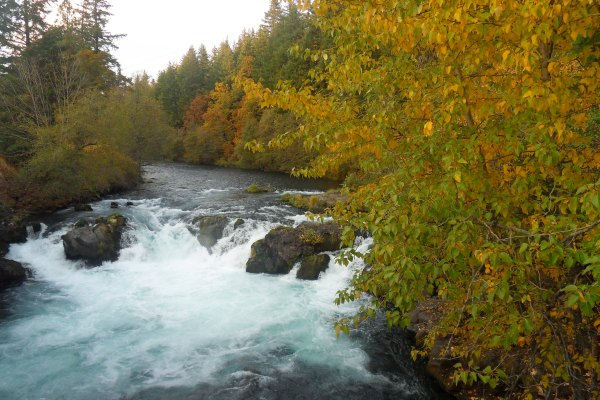 Río White Salmon, Washington, EE.UU.